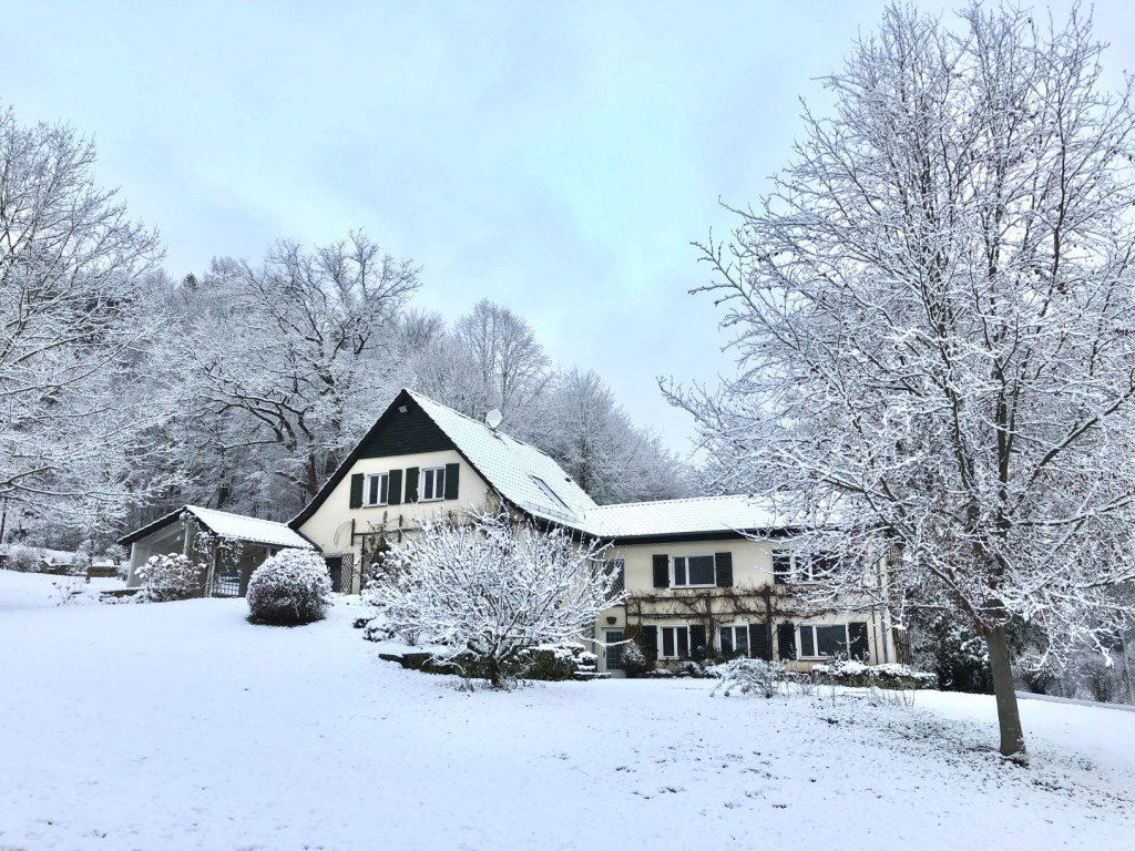 Forsthaus 1 im Winter